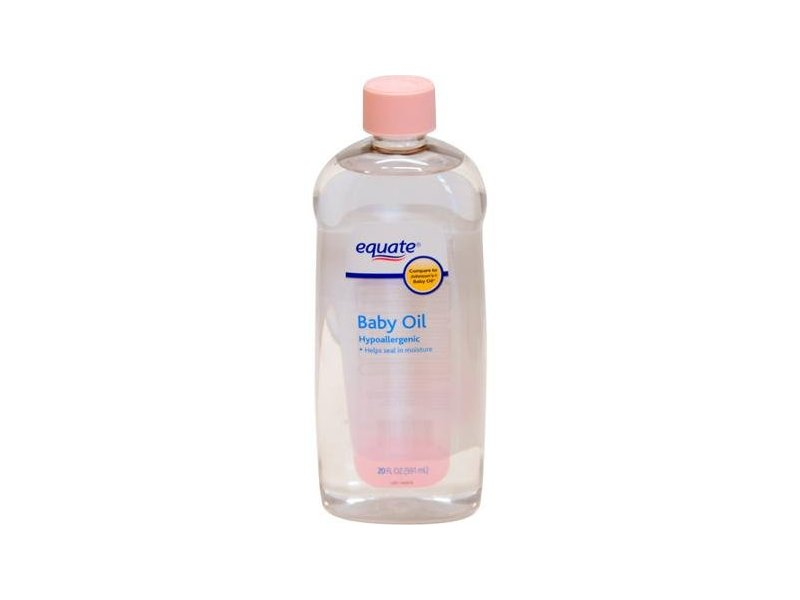 Equate Baby Oil, Hypoallergenic, 20 fl oz