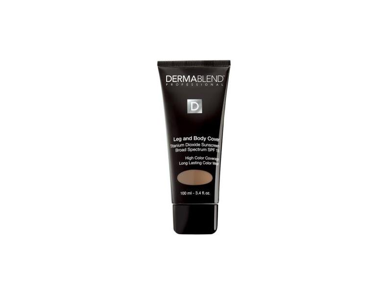 Dermablend Leg and Body Cover, SPF 15, Toast, 3.4 fl oz