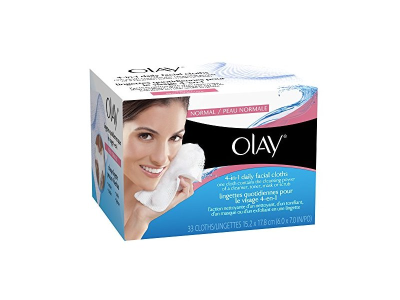 Olay 4-in-1 Daily Facial Cloths 66 count iS Clinical Youth Intensive Creme with Leave Behind 0.07 oz 10 ct