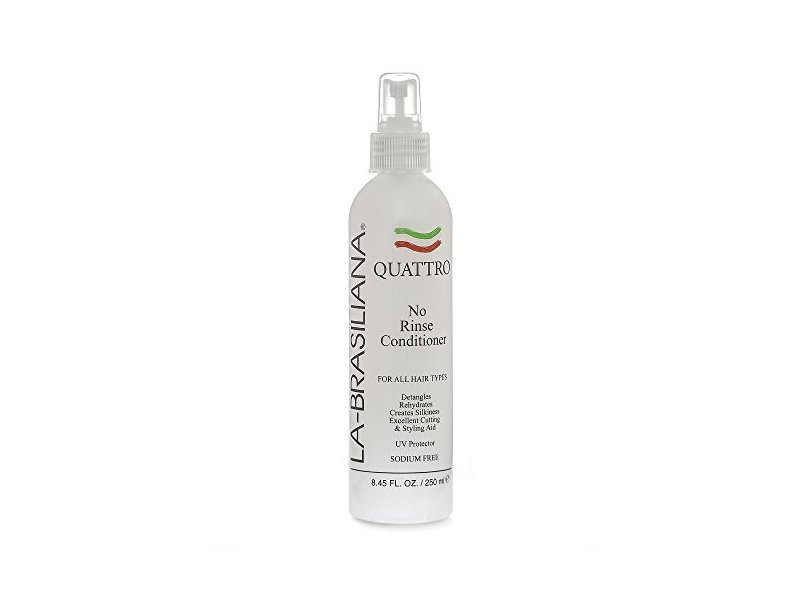 La-Brasiliana Quattro No Rinse Conditioner, 8.45 fl oz