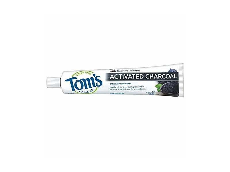 Tom's Of Maine Activated Charcoal Toothpaste, 4.7 oz (133g)