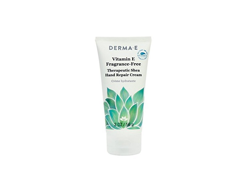Derma-e Vitamin E Fragrance-free Therapeutic Moisture Shea Hand Cream, 2 Ounce