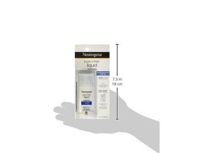 Neutrogena Pure & Free Liquid Sunscreen Broad Spectrum SPF50, Johnson & Johnson - Image 6