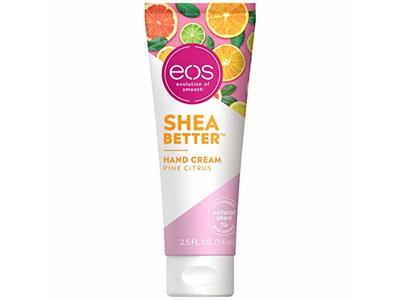 Eos Shea Better Hand Cream, Pink Citrus, 2.5 fl oz/74 mL