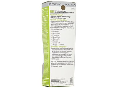 Physicians Formula Organic Wear 100% Natural Origin BB Beauty Balm Cream, Light/Medium, 1.2 Fluid Ounce - Image 4