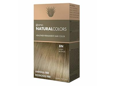 Onc NaturalColors Permanent Hair Color, 8N Natural Light Blonde, 4 fl. oz. (120 mL)