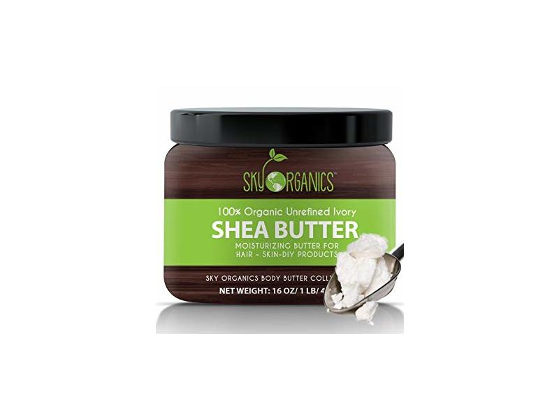 Sky Organics Shea Butter, 8 oz