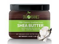 Sky Organics Shea Butter, 8 oz - Image 2