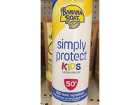 Banana Boat Simply Protect Kids Tear-Free Broad Spectrum Sunscreen Spray with SPF 50, 9.5 Ounce - Image 3