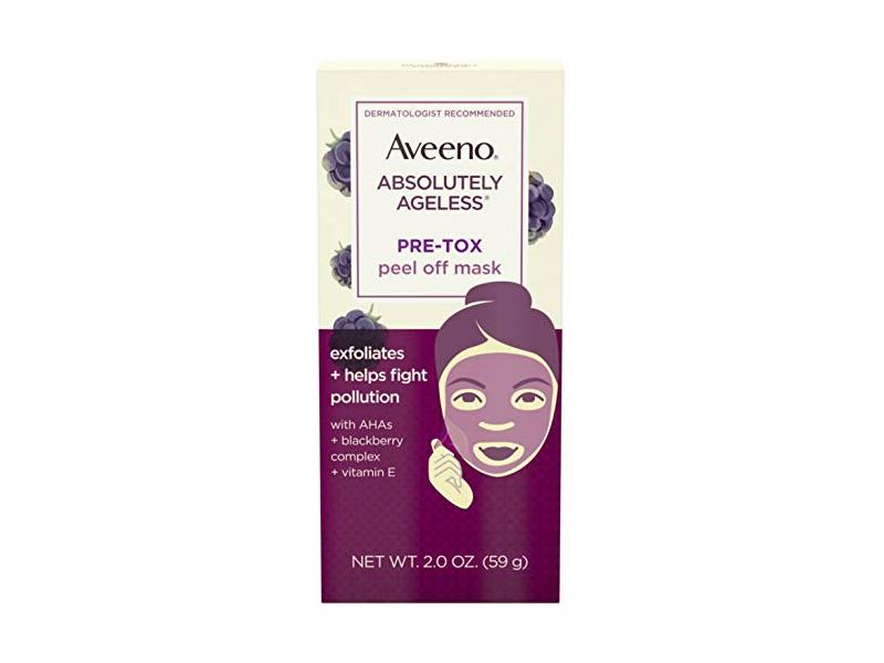 Aveeno Absolutely Ageless Pre-Tox Peel Off Antioxidant Face Mask 2 oz