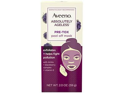 Aveeno Absolutely Ageless Pre-Tox Peel Off Antioxidant Face Mask 2 oz - Image 1