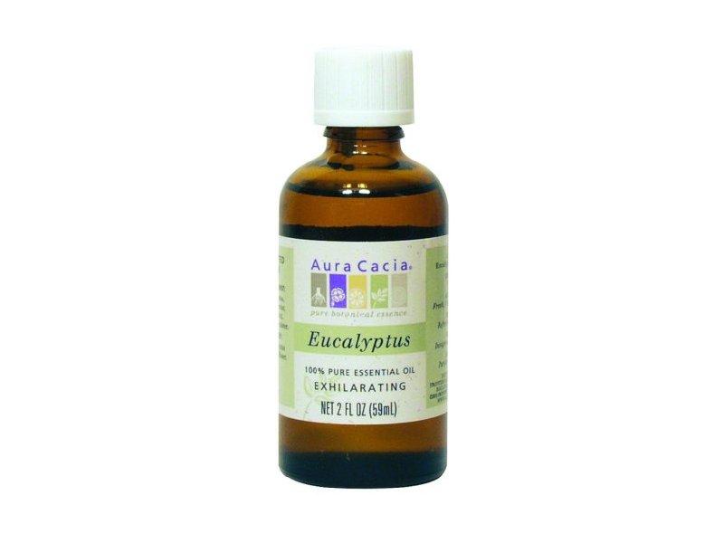 Aura Cacia Essential Oil, Eucalyptus, 2 fl oz