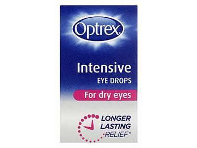 Optrex Intensive Eye Drops For Dry Eyes, 10ml