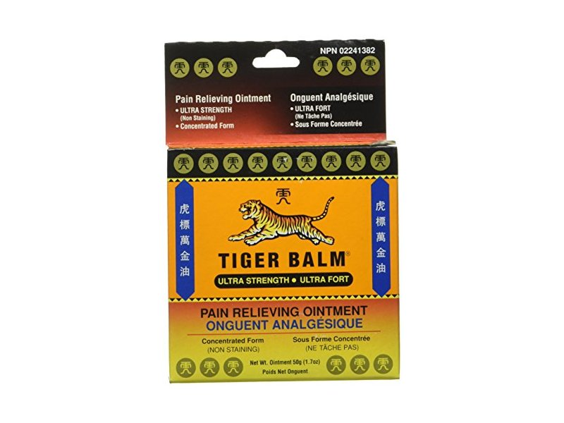 Tiger Balm Ultra Pain Relieving Ointment, 1.7 oz
