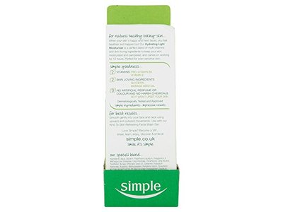 Simple Kind to Skin Hydrating Light Moisturiser 125ml - Image 4
