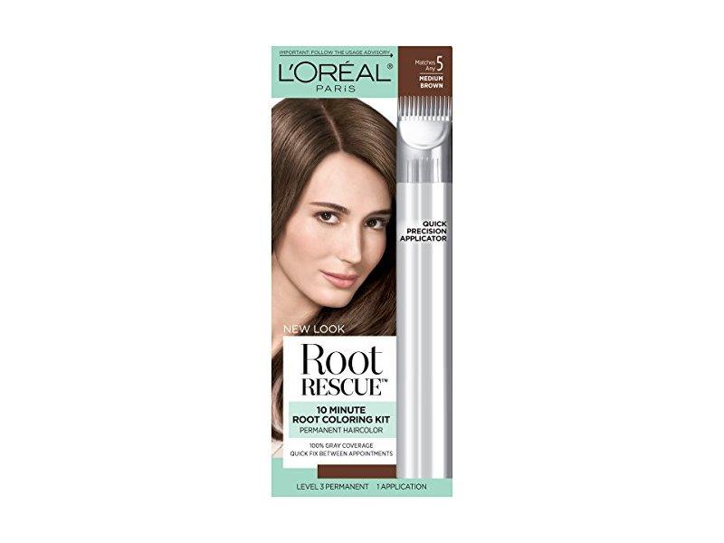 Loral Paris Root Rescue Hair Color 5 Medium Brown Ingredients And