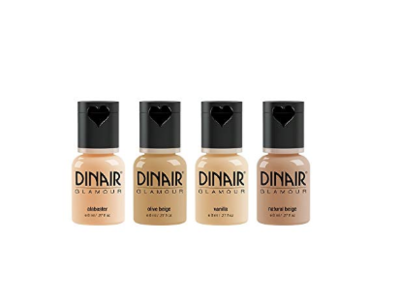 Dinair Matte Foundation, All Shades - Image 1