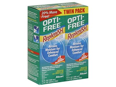 Opti-Free Replenish Multi-Purpose Disinfecting Solution, 12 Fl. Oz.