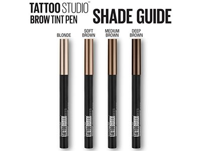 Maybelline TattooStudio Brow Tint Pen Makeup, Soft Brown, 0.037 fl. oz. - Image 6