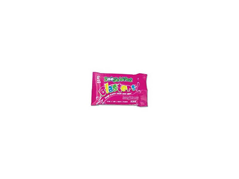 Boogie Wipes Blasters, Berry, 12 count
