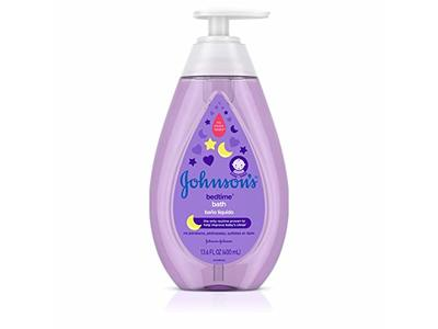 Johnson's Baby Tear-Free Bedtime Baby Bath with Soothing Natural Calm Aromas, 13.6 Fluid Ounce