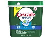 Cascade Complete ActionPacs Dishwasher Detergent, Fresh Scent, 78 Count - Image 2