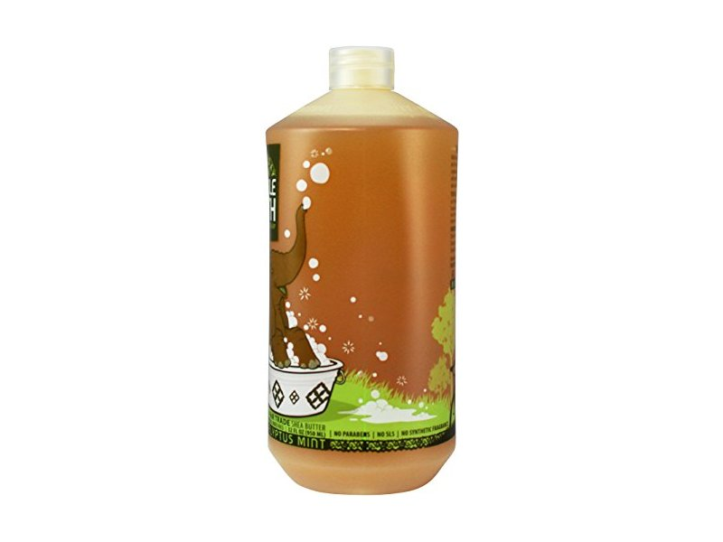 Alaffia Bubble Bath Shea & Lemon Balm - Eucalyptus Mint for Babies & Kids 32 Ounces