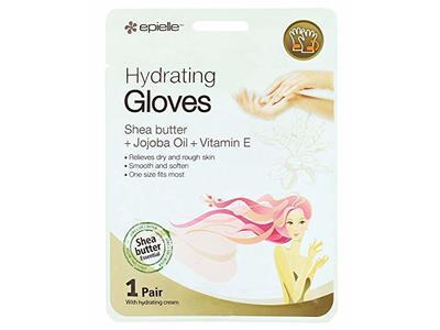 Epielle Hydrating Gloves, Shea Butter + Jojoba Oil + Vitamin E, 1 Pair