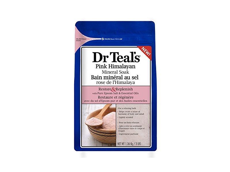 Dr Teal's Pink Himalayan Mineral Soak, Restore & Replenish, 48 oz