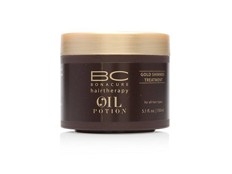 Schwarzkopf BC Bonacure Oil Potion Gold Shimmer Treatment, 150ml/5.1 oz