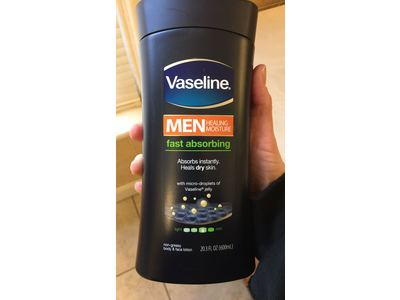 Vaseline Men Healing Moisture Body & Face Lotion, 20.3 fl oz - Image 4