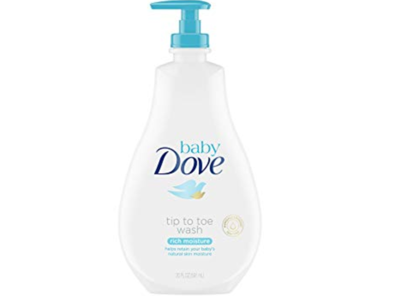 Baby Dove Tip To Toe Wash, Rich Moisture, 6.5 fl oz
