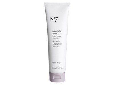 Boots No7 Beautiful Skin Melting Gel Cleanser, 5oz