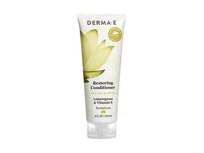 Derma-E Restoring Conditioner Volume and Shine, Lemongrass & Vitamin E, 8 fl oz