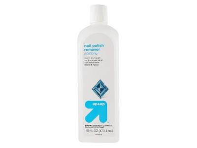Up & Up Acetone Nail Polish Remover, 16 fl oz