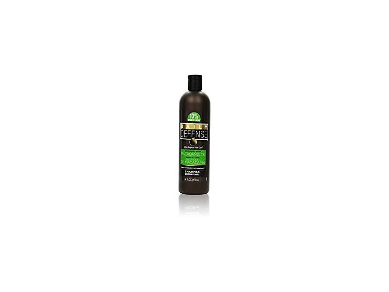 Daily Defense Shampoo, Macadamia Oil, 16 oz