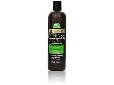 Daily Defense Shampoo, Macadamia Oil, 16 oz