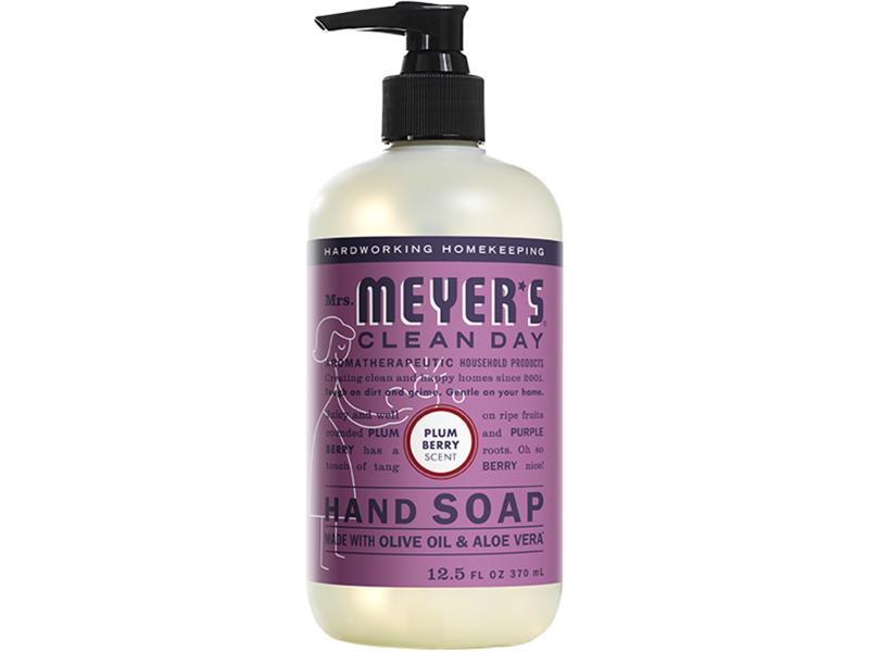 Mrs. Meyer's Clean Day Hand Soap, 12.5 fl oz/370 mL
