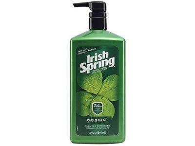 Irish Spring Body Wash Pump, Original - 32 fluid ounce