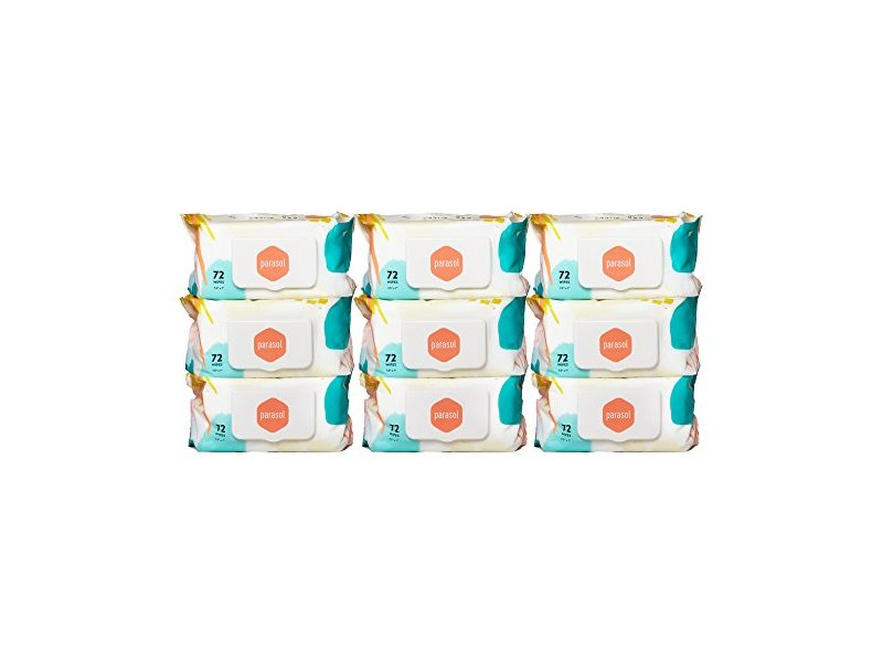 Parasol Baby Wipes 72 Count 9 Pack9 Ingredients And Reviews