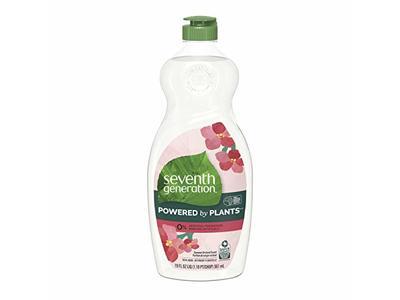 Seventh Generation Dish Liquid, Summer Orchard Scent, 19 fl oz/561 mL