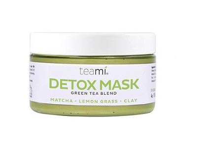 TeaMi Detox Mask, Green Tea Blend, 4 oz