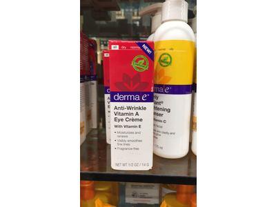 Derma E Anti-Wrinkle Vitamin A Eye Creme, 0.5 Ounce - Image 3