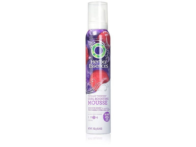 Herbal Essences Totally Twisted Curl Boosting Hair Mousse, Mixed Berry Essences, 6.8 oz / 192 g
