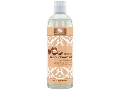 Beauty Aura Macadamia Nut Oil, 16 fl oz
