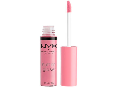 Nyx Professional Makeup Butter Gloss, Eclair, 0.27 oz/8 ml