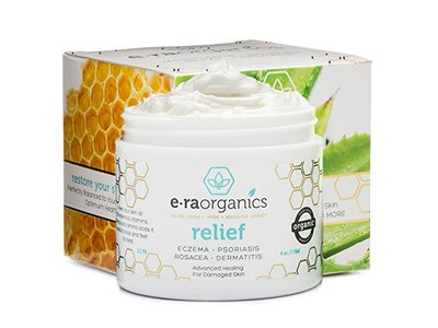 Era Organic Psoriasis & Eczema Cream 4oz Advanced Healing Non-Greasy Moisturizer