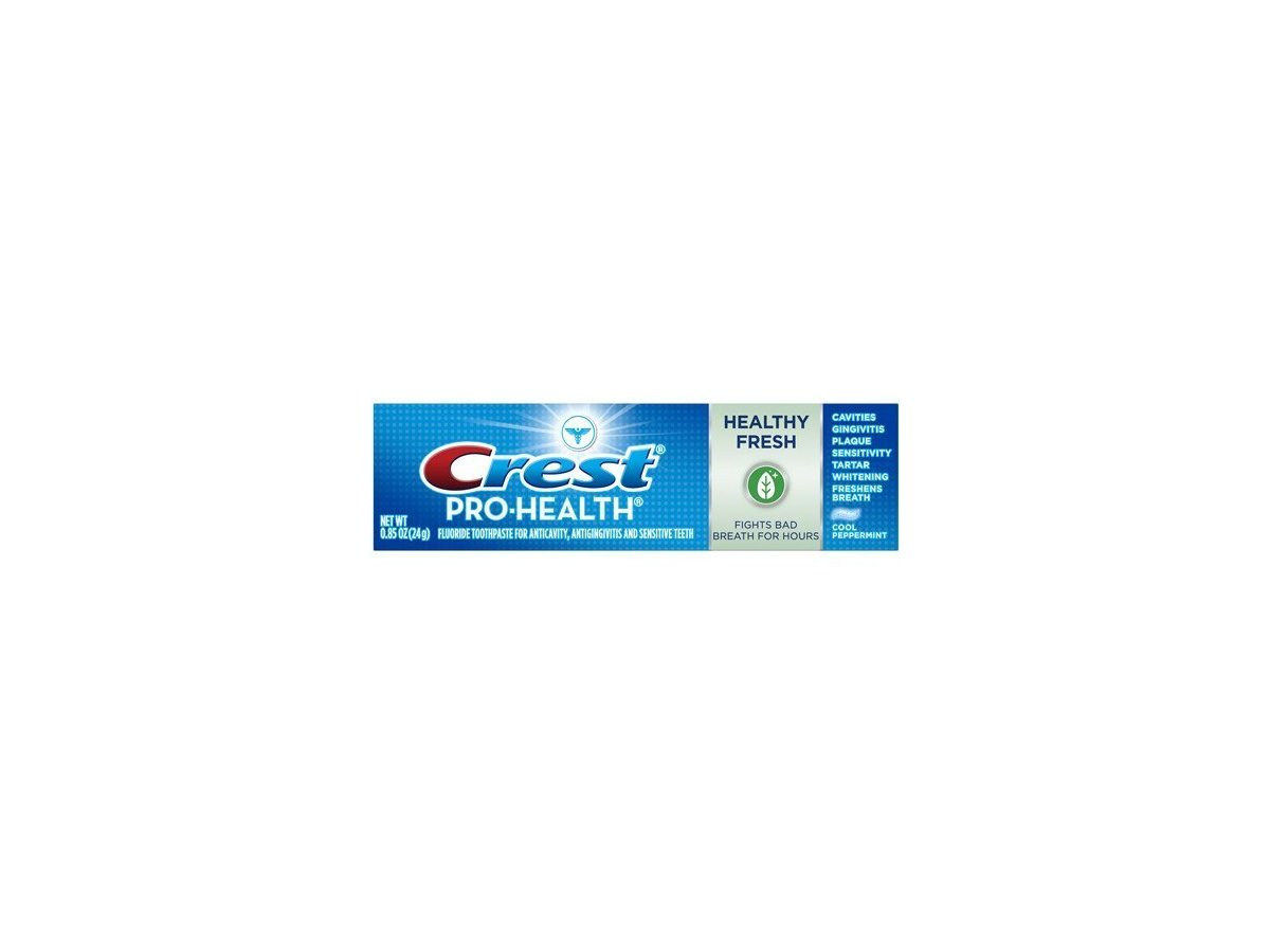 Crest Pro Health Healthy Fresh Toothpaste 85 Oz Travel