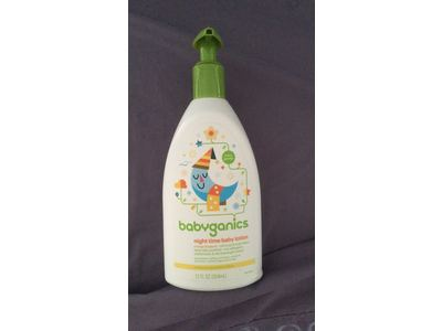 BabyGanics Smooth Moves Night Time Baby Lotion, Natural Orange Blossom, 12oz - Image 3
