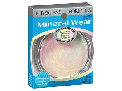 Physicians Formula Mineral Wear Talc-Free Mineral Correcting Powder, Translucent, 0.29 Ounce - Image 10